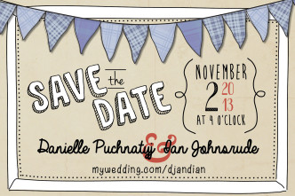 Save the Date Danielle & Ian