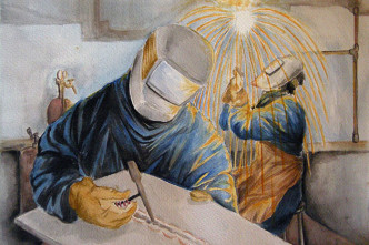 welding watercolour thumb