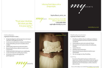 my events brochure together